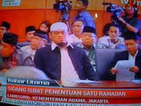 ustadz Abdul Aziz Ridwan, salah satu anggota Majelis Taujih Wal Irsyad LDII